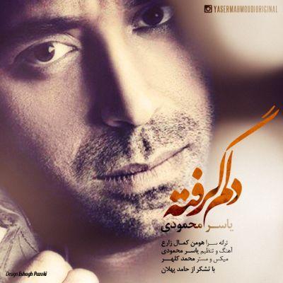 دانلود آهنگ جدید یاسر محمودی به نام دلم گر�ته