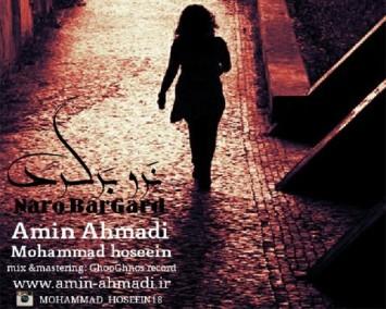 دانلود آهنگ نرو برگرد - امین احمدی