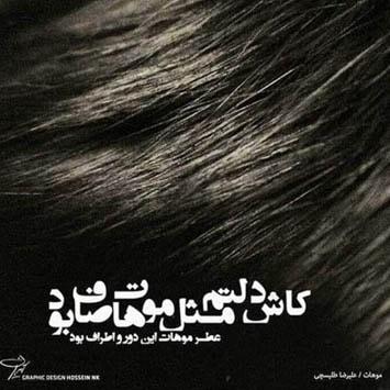 دانلود آهنگ جدید علیرضا طلیسچی به نام موهات Alireza Talischi Moohat min