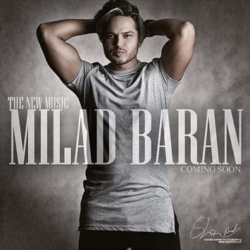 دانلود آهنگ جدید میلاد باران به نام دلم رفت Milad Baran Delam Raft min