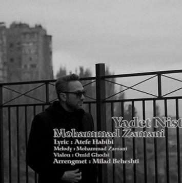 دانلود آهنگ جدید محمد زمانی به نام یادت نیست Mohammad Zamani Yadet Nist min