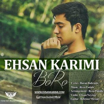 sakha598 min - دانلود آهنگ جدید احسان کریمی به نام برو