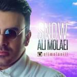 دانلود آهنگ جدید علی مولایی به نام برف