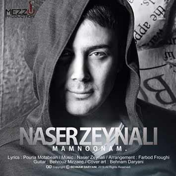 دانلود آهنگ جدید ناصر زینعلی به نام این رسمش نبود Naser Zeynali Mamnoonam