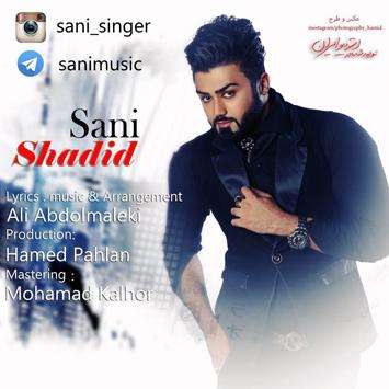 دانلود آهنگ جدید سانی به نام شدید Sani Shadid