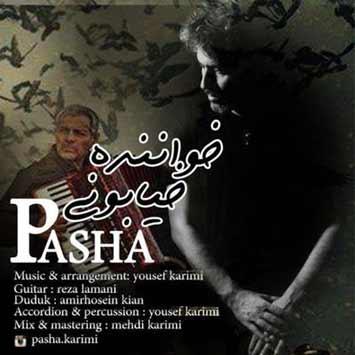 دانلود آهنگ جدید پاشا به نام خواننده خیابونی pasha khanandeh khiabooni