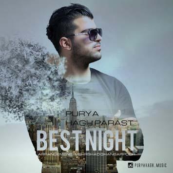 دانلود آهنگ جدید پوریا حق پرست به نام یه شب عالی Purya Hagh Parast