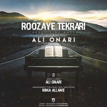 Ali-Onari-Called-Roozaye-Tekrari