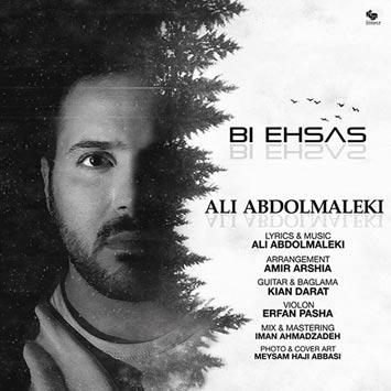 دانلود آهنگ جدید علی عبدالمالکی به نام بی احساس Ali Abdolmaleki Bi Ehsas