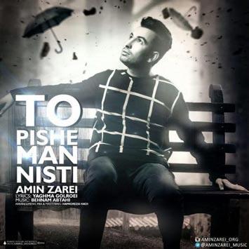 دانلود آهنگ جدید امین زارعی به نام تو پیش من نیستی Amin Zarei Called To Pishe Man Nisti