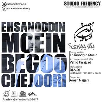 دانلود آهنگ جدید احسان الدین معین به نام بگو چجوری Ehsanoddin Moein Begoo Chejoori