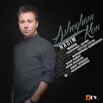 دانلود آهنگ جدید ندیم به نام عاشقم کن Nadim Ashegham Kon 1