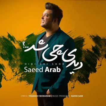 دانلود آهنگ جدید سعید عرب به نام دیدی چی شد Saeed Arab Called Didi Chi Shod