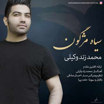 Mohammad Zande Vakili Siah Mojgon - دانلود آهنگ جدید محمد زند وکیلی به نام سیاه مژگون